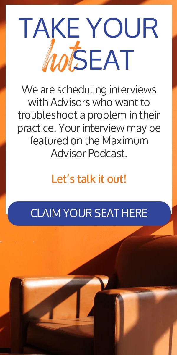 Maximum Advisor Hot Seats