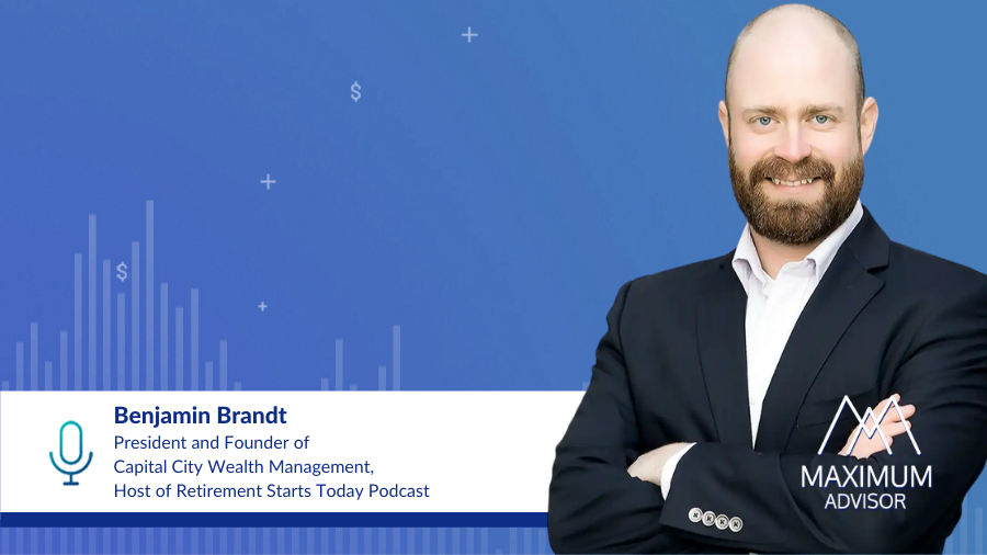 Benjamin Brandt Retirement Starts Today Podcast Host