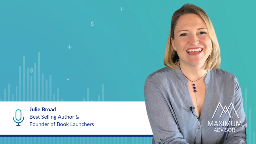 Julie Broad, Best selling author and founder of Book Launchers